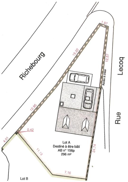 MAULETTE - Terrain de 296 m2